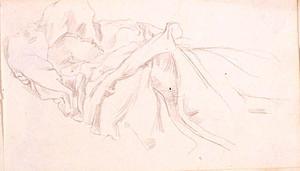 Sleeping Figure Under Blankets
