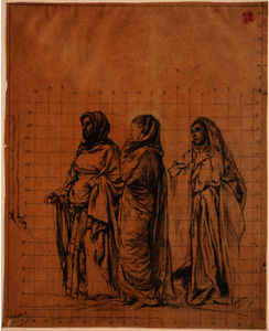 Study for ''The Three Maries'', Saint Thomas' Church, New York
