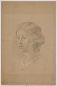 Untitled (Head of a Girl)