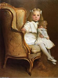 Portrait of a Young Girl with Her Doll