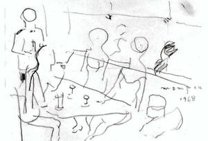 Figures In A Bar