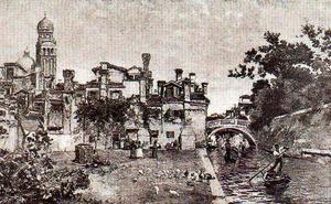 A Larghetto In Venice
