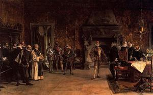 Last Interview Of John Of Austria And Philip Ii