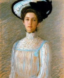 Alice in a White Hat (Alice Perry Grew)