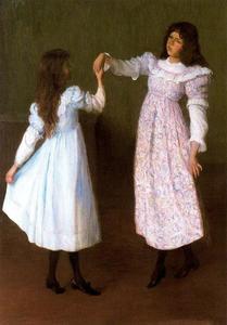 Children Dancing, II (Alice and Edith Perry)