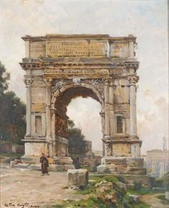 Arch of Titus (The Forum), Rome