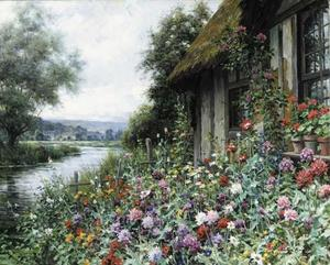 Cottage in Spring, Normandy