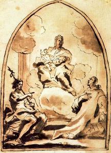 Madonna col Bambino, i santi Bruno e Giovanni Battista