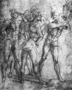 Four Demons with a Book