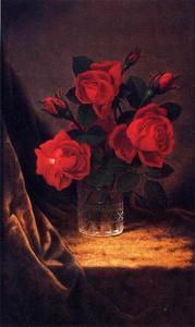 Jaqueminot Roses 1