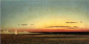 Marsh Scene at Dusk