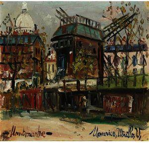 Montmartre (Le Moulin De La Galette)