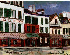 Restaurant De La Mere Catherine in Montmartre