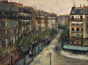 Rue Custine at Montmartre