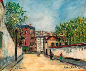 Rue de Mont-Cenis in Montmartre