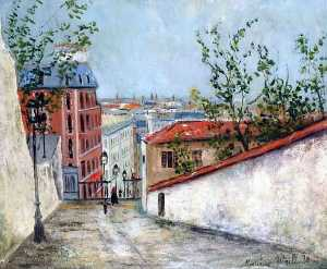 Rue du Mont-Cenis Montmartre and the house of Berlioz