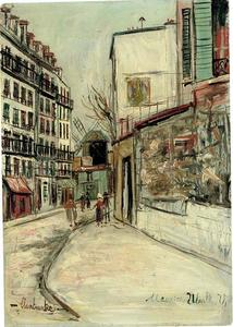 Rue Lépic at Montmartre