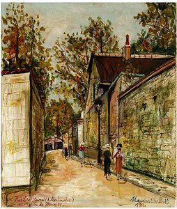 Rue Saint-Vincent (A Montmartre) Et Maison De Henri Iv