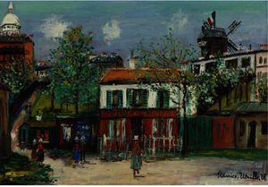 Streets Of Montmartre 1
