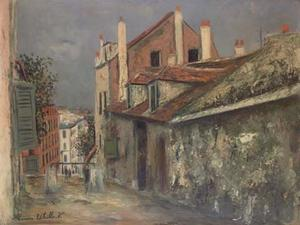 The house of Mimi Pinson in Montmartre 1