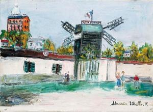 The Moulin de la Galette at Montmartre