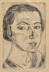 Portrait of Frau Parkus