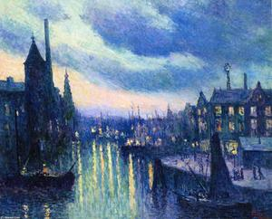 The Port of Rotterdam, Evening