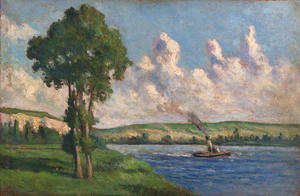 The Seine at Andelys