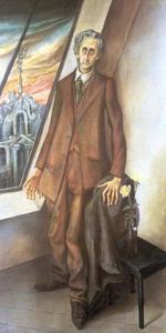 Portrait of Poet Ivar von Lücken