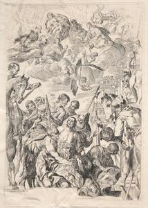 St. George Preparing for His Martyrdom