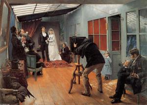 A Wedding in the photohraphe