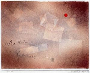 Postal card for 60 birthday Kandinsky