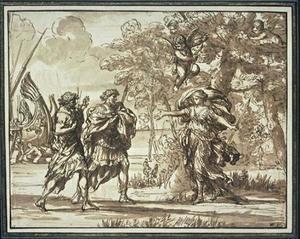 Huntress Venus appears to Aeneas