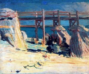 Sainte-Adresse beach