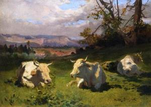 коровы отдыха