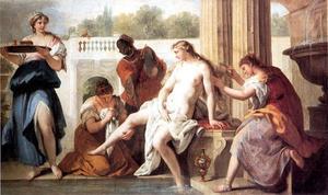 Bathsheba in her Bath 1