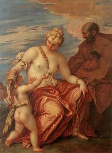 Venus, Cupid and Vulcan