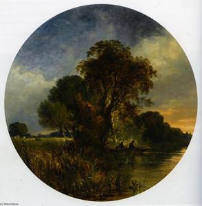 River Landscape Pair Part 1