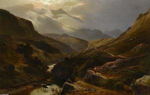 The Road to Loch Turrett