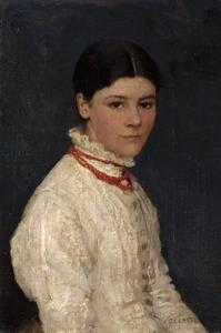 Portrait of Agnes Mary Webster