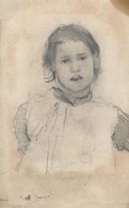 Study of a young girl 1