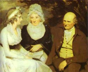Portrait of John Johnstone of Alva, His Sister, and His Niece