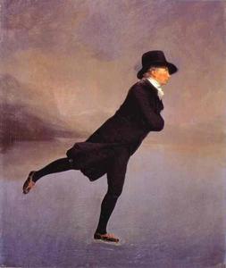 Portrait of The Reverend Robert Walker Skating