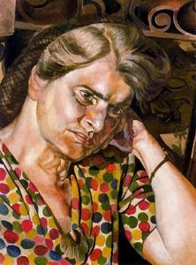 Portrait of Hilda Carline 1