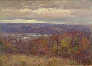 Autumn Evening in the Hills (Early Spring-Salt Creek Valley)