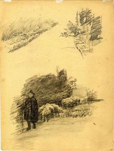 Drawing of a shepherd