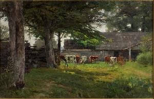 Pastoral (Cows by the Barn)