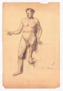 Study of a Male Nude 3