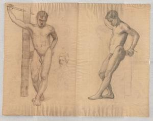 study of male nude 2