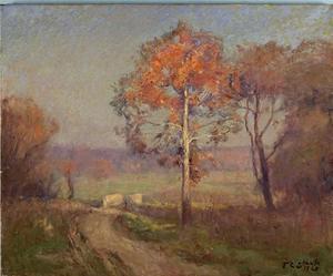 Sycamores, Autumn (An Autumn Day)